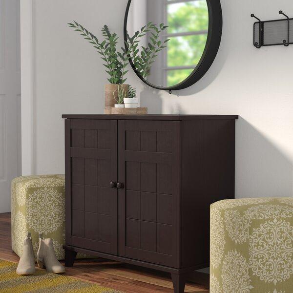 12-Pair Wood Shoe Storage Cabinet by Zipcode Design