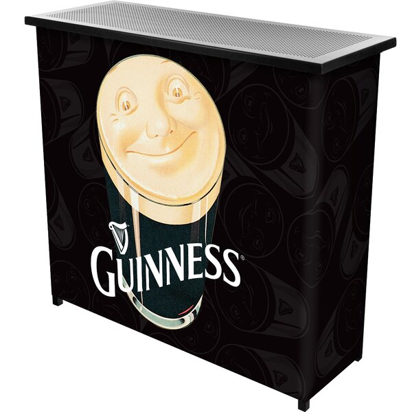 Guinness Smiling Pint Portable Home Bar by Trademark Global