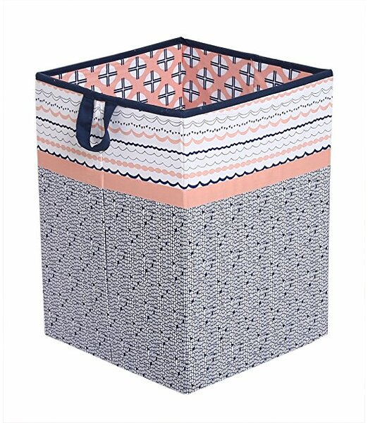 Tribal Collapsible Laundry hamper by Bacati