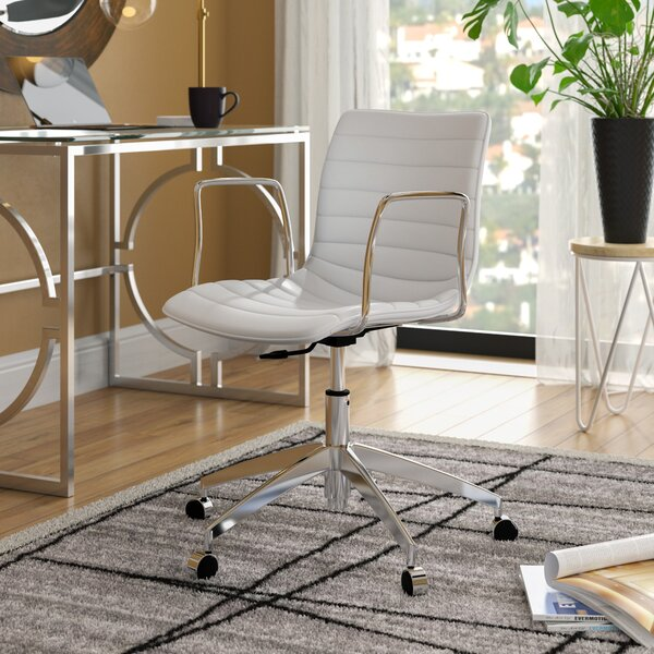 Crocker Low-Back Desk Chair by Wade Logan