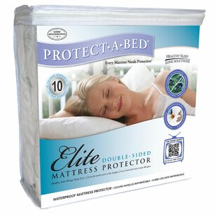 Elite Double-Sided Fitted Hypoallergenic Waterproof Mattress Protector