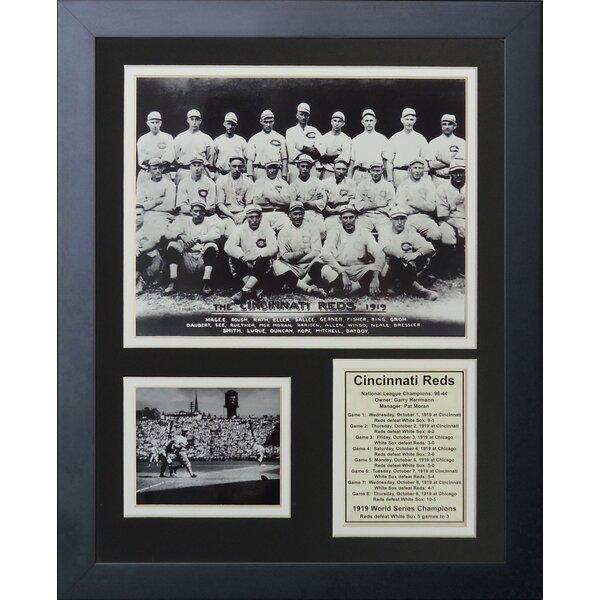 1919 Cincinnati Reds Champions Framed Memorabilia by Legends Never Die