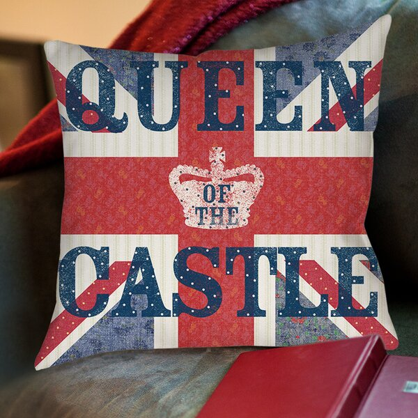 My Queen Castle Sue Schlabach Wild Apple Printed Throw Pillow by Manual Woodworkers & Weavers