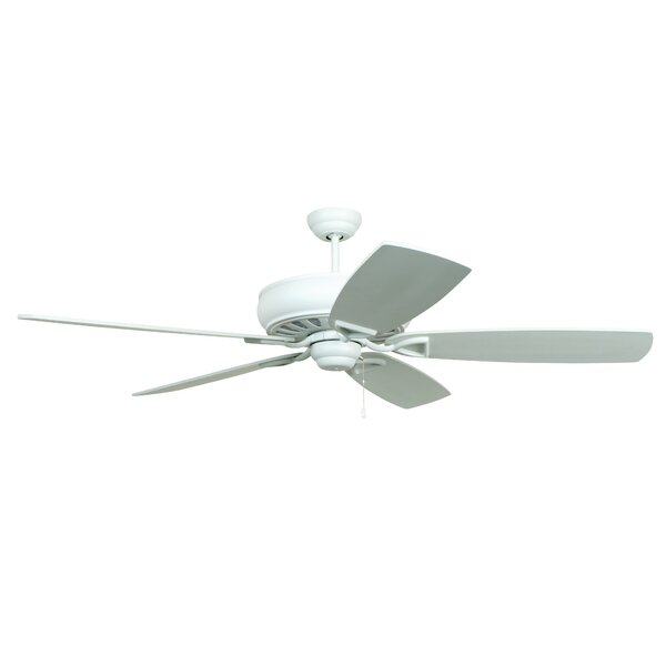 62 Wolfgram Antik 5-Blade Ceiling Fan by Breakwater Bay