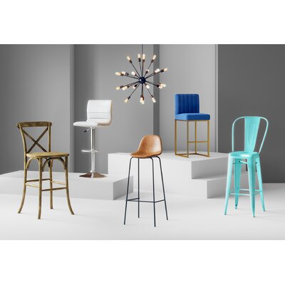 Full Back Bar Stools You Ll Love In 2020 Wayfair
