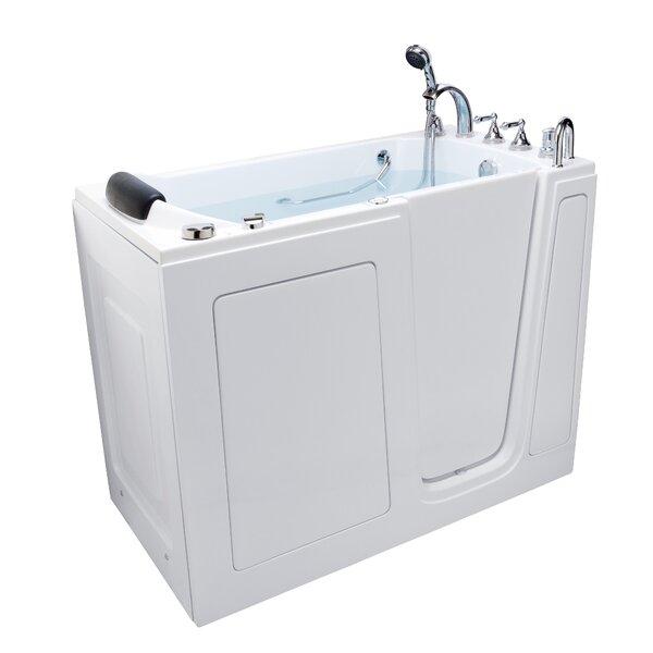 52 x 28 Walk-in Combination Bathtub by Energy Tubs
