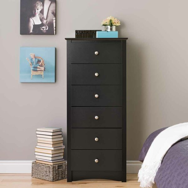 Hayman 6 Drawer Lingerie Chest By Andover Mills