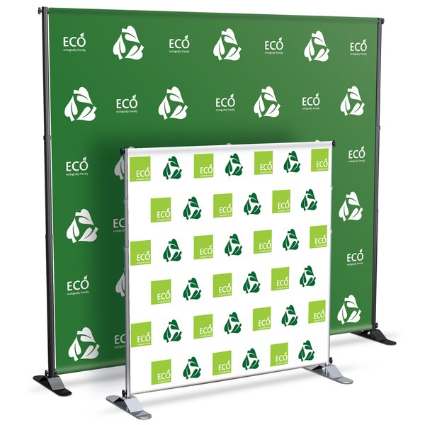 Grand Format Jumbo Banner Stand by Testrite