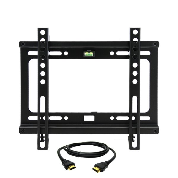 Fixed Wall Mount for 17'' - 42'' Plasma / LCD / LED Screens by MegaMounts