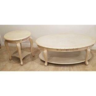 Comparison Bella 2 Piece Coffee Table Set ByBenetti's Italia