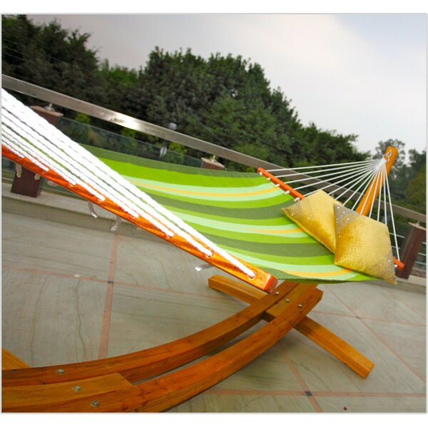Bargamin Striped Tree Hammock by Red Barrel Studio