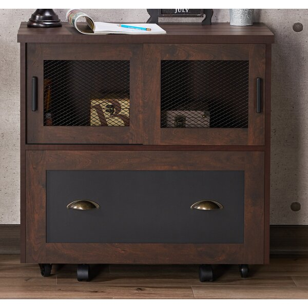 Zenya Industrial 1-Drawer Lateral Filing Cabinet by 17 Stories