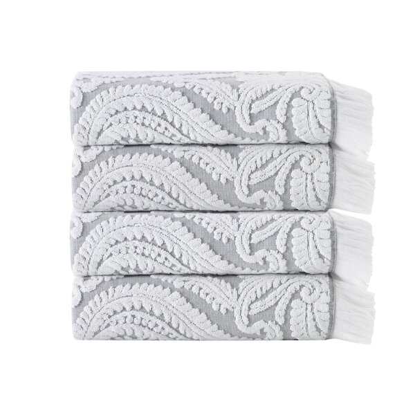 Laina Turkish Cotton Bath Towel (Set of 4) by Enchante Home