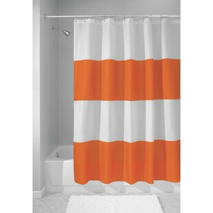 Orange Weighted Bottom Shower Curtains Youll Love