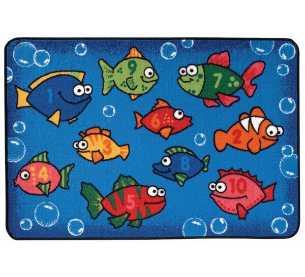 Something Fishy Kids Rug by Kids Value Rugs