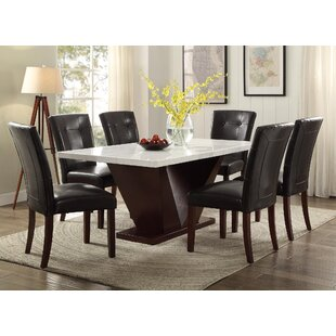 Forbes Marble Dining Table. by ACME Furniture  sc 1 st  Wayfair & Genuine Marble Dining Table | Wayfair