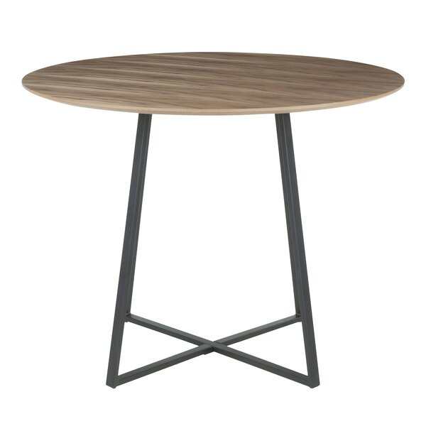 Shonda Contemporary Solid Wood Dining Table by Brayden Studio