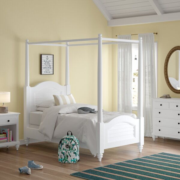 Sitz Twin Canopy 3 Piece Bedroom Set by Harriet Bee