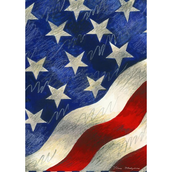 Star-Spangled Banner Garden flag by Toland Home Garden