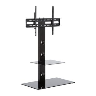 Houtz Glass TV Stand for TV's up to 50