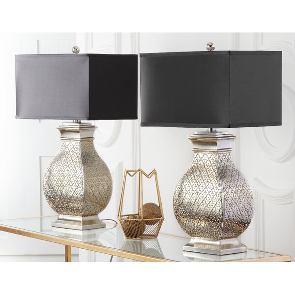 1-Light 30 Table Lamp (Set of 2) by Safavieh