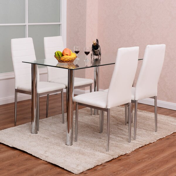 Hottinger 5 - Piece Dining Set By Ivy Bronx