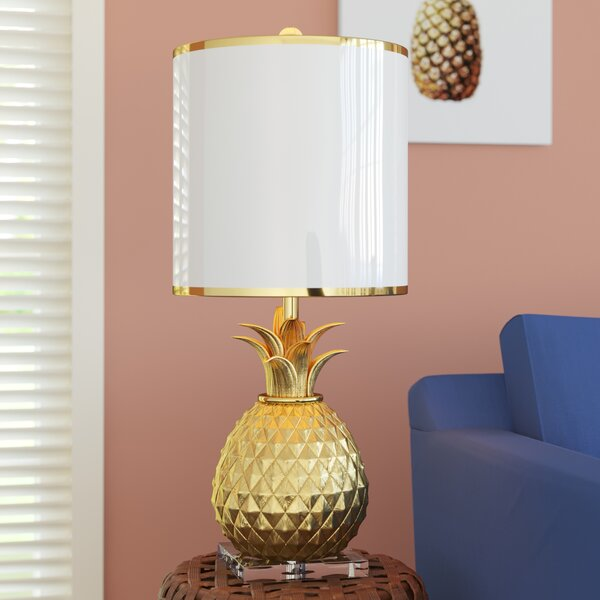 Dorsey Pineapple 31 Table Lamp by Bay Isle Home