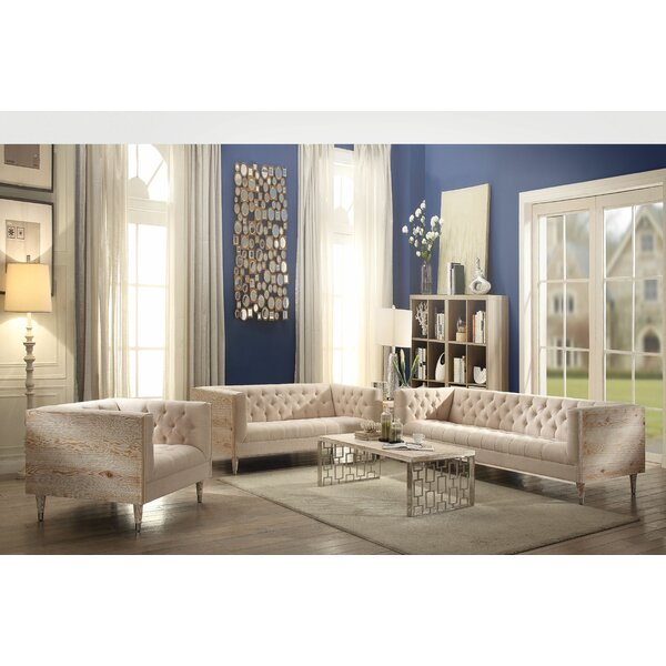 Misael Configurable Living Room Set by Everly Quinn