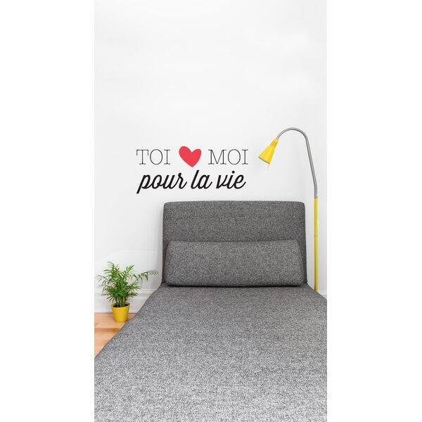 Mia & Co Toi Et Moi Pour La Vie Wall Decal by ADZif