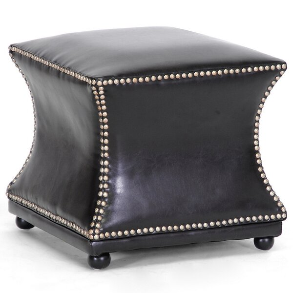 Baxton Studio Ellastone Cube Ottoman by Wholesale Interiors