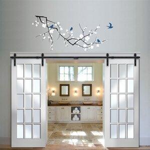 Interior Barn Doors With Windows interior doors you'll love | wayfair