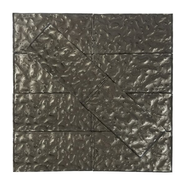Metallic 3 x 6 Glass Subway Tile in Glossy Smooth by Abolos