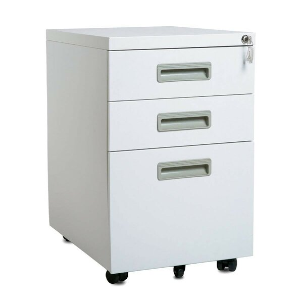 Anferney 3-Drawer Mobile Vertical Filing Cabinet