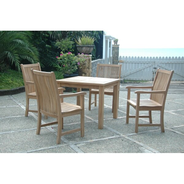 Brianna 5 Piece Deep Seating Group by Anderson Teak