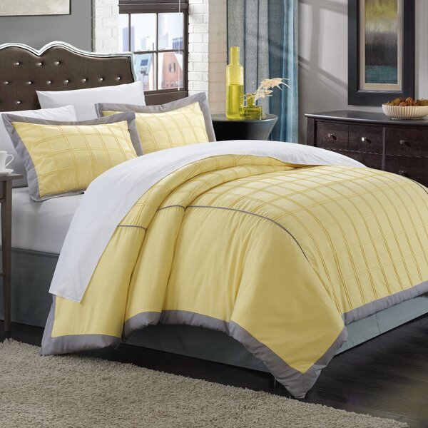 Angelina 7 Piece Duvet Cover Set by Chic Home