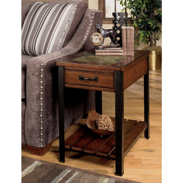 3013 End Table With Storage by Wildon Home®