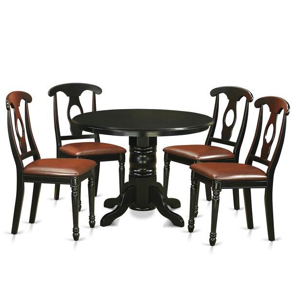 Sherlock 5 Piece Dining Set by August Grove