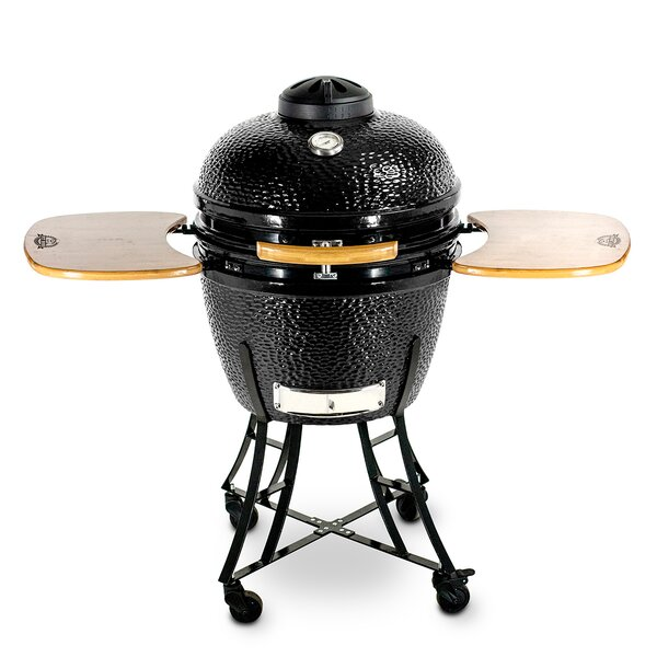 21 Kamado Charcoal Grill with Smoker by Pit Boss