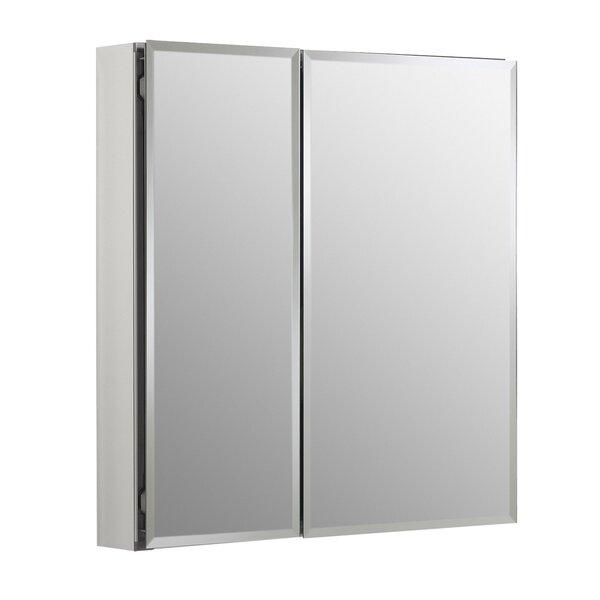 25 x 26 Recessed or Surface Mount Frameless Medicine Cabinet with 2 Adjustable Shelves by Kohler
