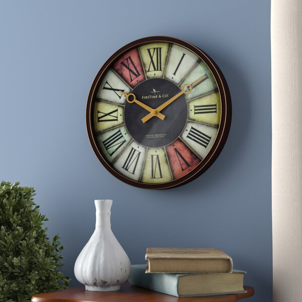 12 Trendy Wall Clock by Andover Mills