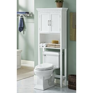 Bathroom Storage Over Toilet Over The Toilet Storage Cabinets  Wayfair