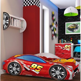 Affordable Grier Kid Race Twin Car Bed ByZoomie Kids