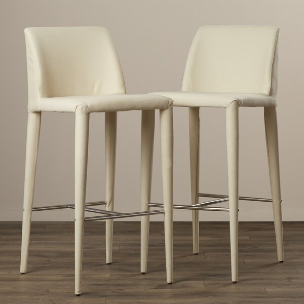 Zackary 29.9 Bar Stool (Set of 2) by Wade Logan