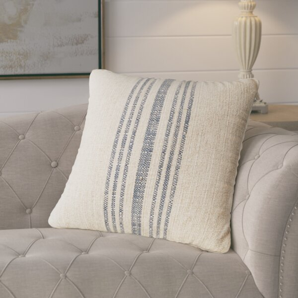 Linen Throw Pillow by Lark Manor