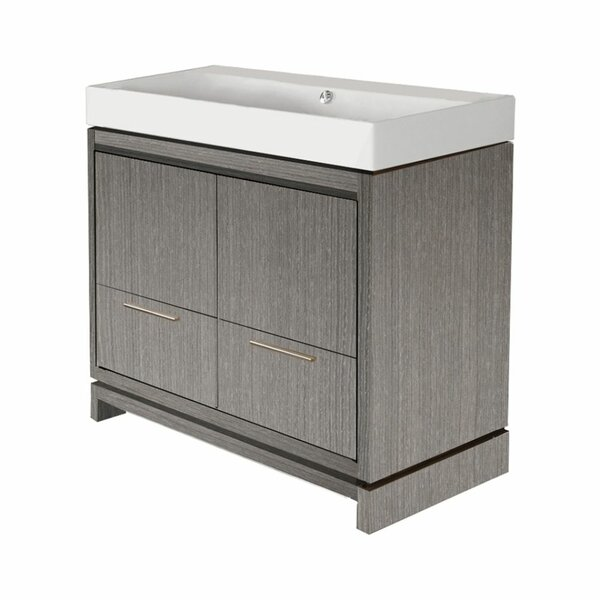 Aquasei 39 Single Bathroom Vanity Base Only
