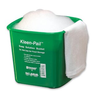 6 Quart Kleen-Pail in Green