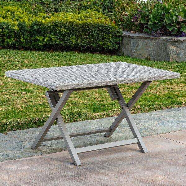 Specht Wicker/Rattan Dining Table by Ebern Designs
