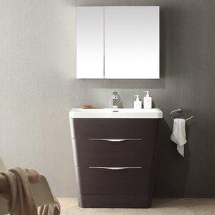 Order Milano 32 Single Bathroom Vanity Set with Mirror ByFresca