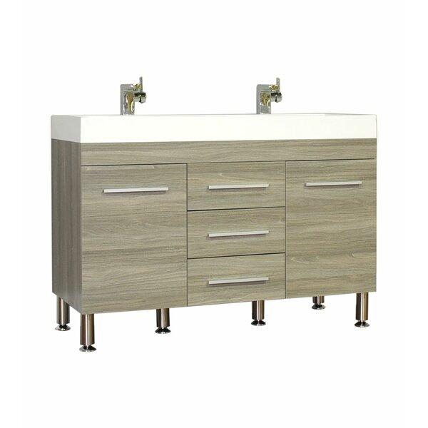 Galvin Modern 47 Double Bathroom Vanity Set