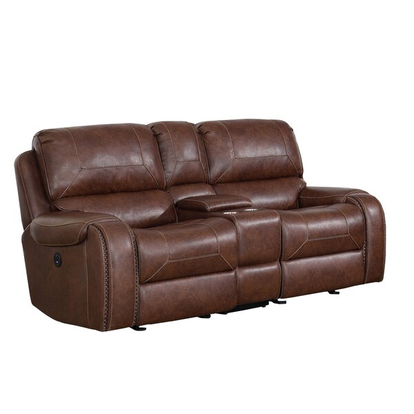 Discount Eberhardt Reclining Loveseat